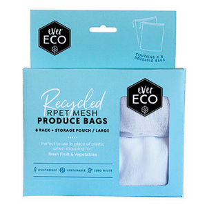 Ever Eco - Reusable Produce Bags [8 Pack] - Wellness Home and Life