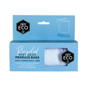 Ever Eco - Reusable Produce Bags [4 Pack] - Wellness Home and Life