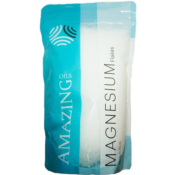 Amazing Oils - Magnesium Bath Flakes (800g) - Wellness Home and Life