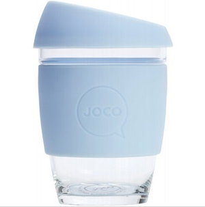 Joco - 12oz Reusable Glass Cup (354ml) - Wellness Home and Life