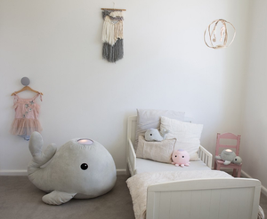Extra Large Whale - Grey [Arriving August] - Wellness Home and Life