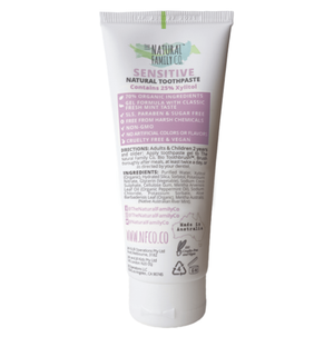 NFco Sensitive Toothpaste 110g - Wellness Home and Life