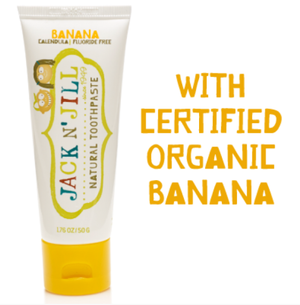 Jack N' Jill - Banana Toothpaste - Wellness Home and Life
