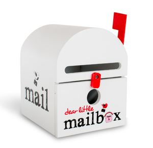 White Dear Little Mailbox - Wellness Home and Life