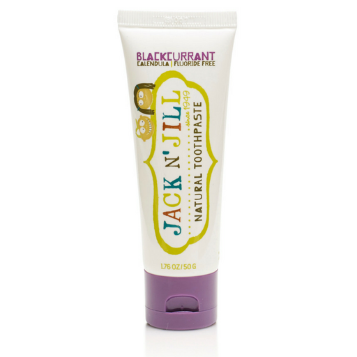 Jack N' Jill - Blackcurrant Toothpaste - Wellness Home and Life