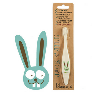 Jack N' Jill - BUNNY Bio Toothbrush - Wellness Home and Life