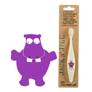 Jack N' Jill - HIPPO Bio Toothbrush - Wellness Home and Life