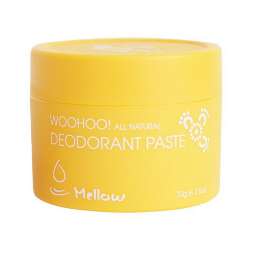 Woohoo All Natural Deodorant Paste (Mellow) - Bicarb FREE