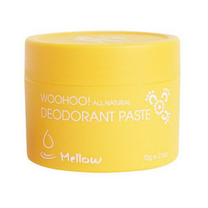 Woohoo All Natural Deodorant Paste (Mellow) - Bicarb FREE - Wellness Home and Life