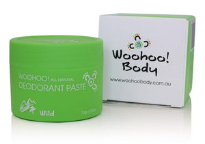 Woohoo All Natural Deodorant Paste (Wild) - Wellness Home and Life