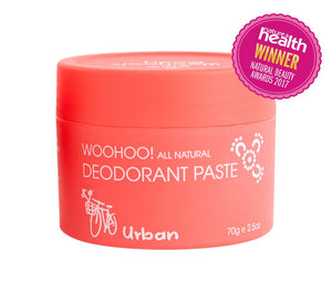 BEST SELLER - Woohoo All Natural Deodorant Paste (Urban) - Wellness Home and Life