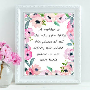 A Mother is [Digital Print] - Wellness Home and Life