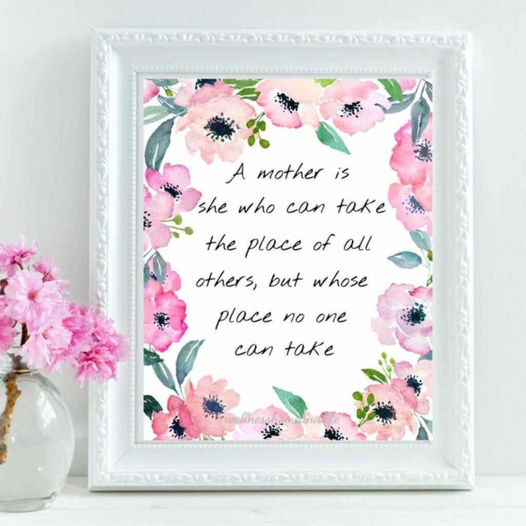 A Mother is [Print] - Wellness Home and Life
