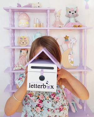 Aqua Dear Little Letterbox - Wellness Home and Life