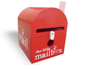 Red Dear Little Mailbox - Wellness Home and Life