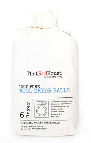 That Red House Woolen Dryer Balls - Wellness Home and Life