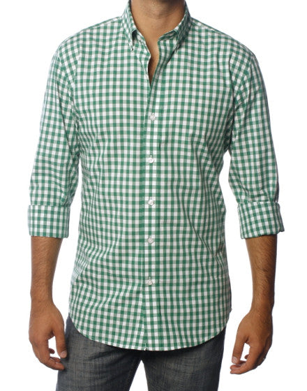 Gingham Style- Green