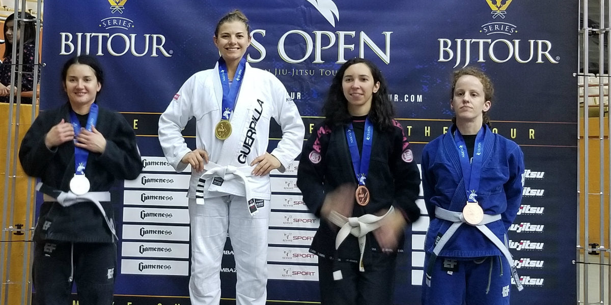 Gold BJJ- Grace Mountainspring