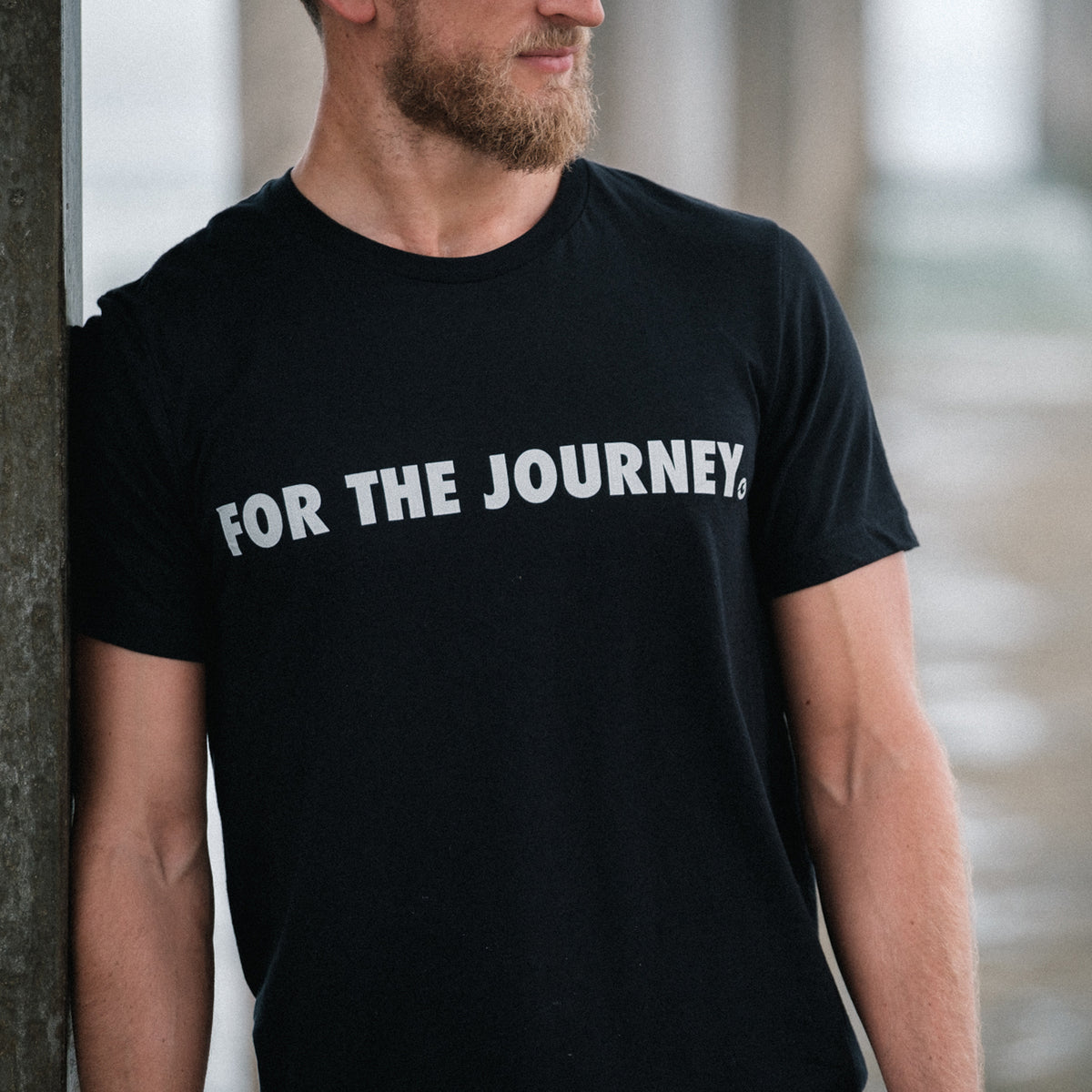 Gold BJJ For The Journey Collection Premium T-Shirt