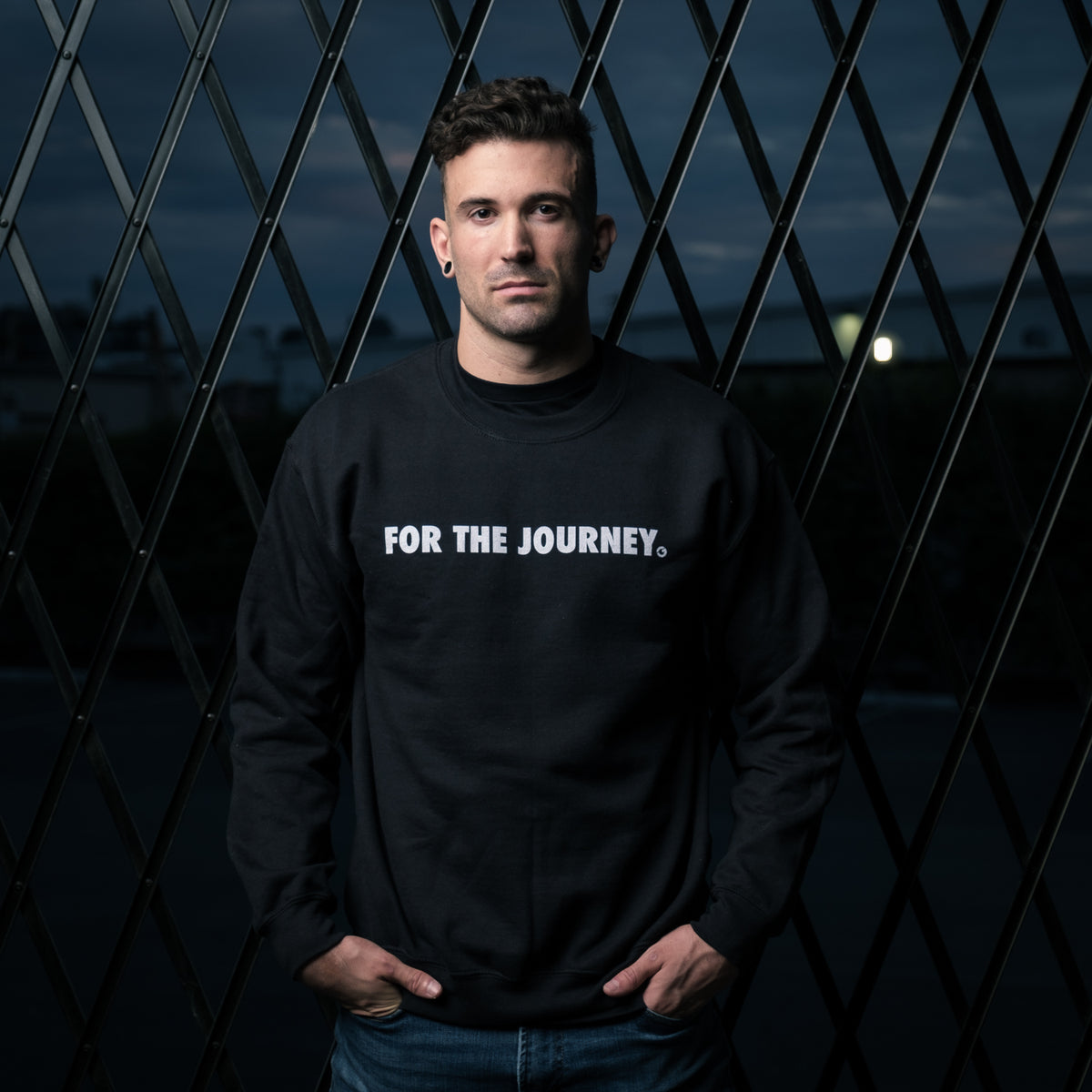 Gold BJJ For The Journey Collection Sweatshirt