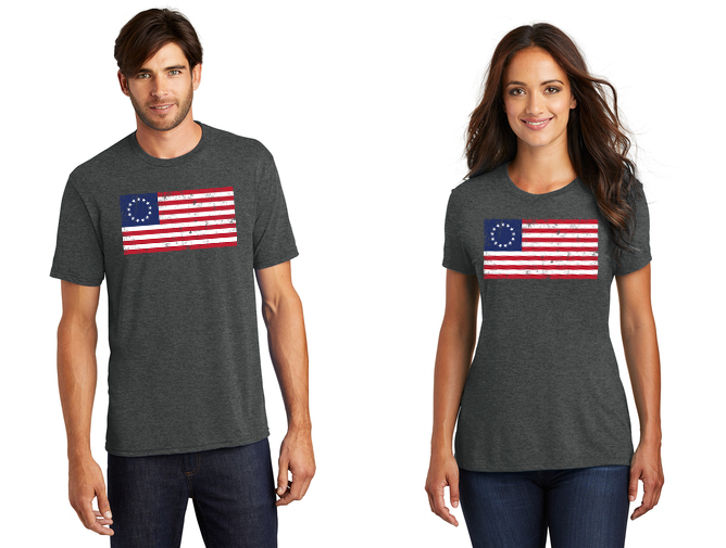 Betsy Ross Proud American Tee