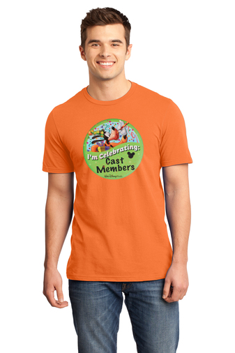 DTS Cast Member Celebration Button Shirt