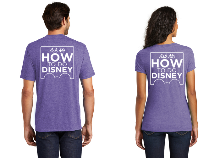 How To Do Disney Tee - Single