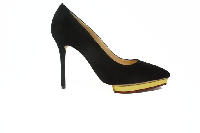 Charlotte Olympia Debbie Black Pump - Studio D Shoe Boutique