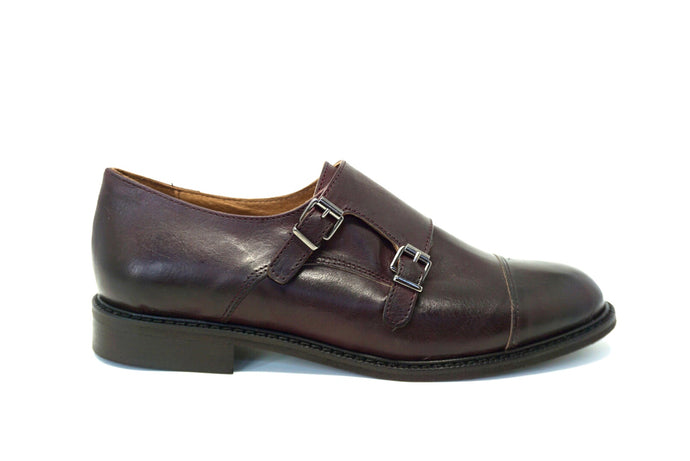 Studio D Privé Oxblood Milli Monk Strap - Studio D Shoe Boutique