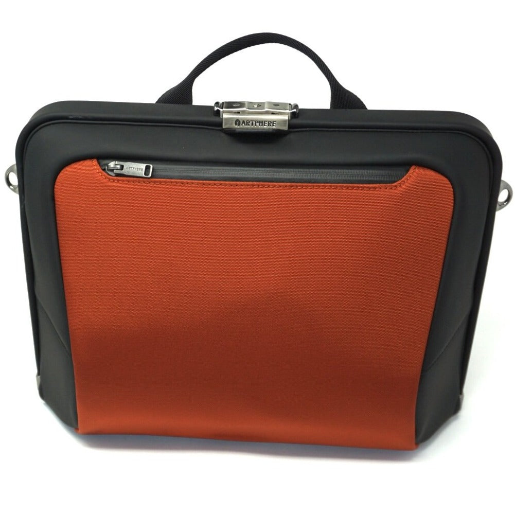 Artphere Forte Orange Nylon Shoulder Bag