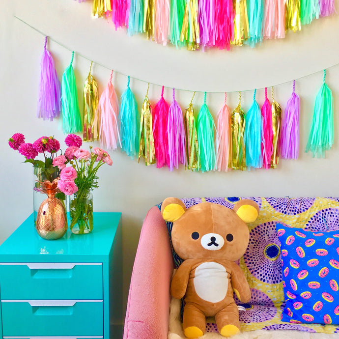 May Day Tassel Garland