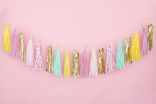 Pink Pineapple Polka Dot Tassel Garland