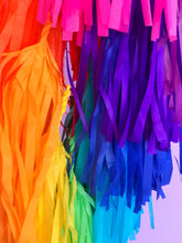 Matte Rainbow Tassel Garland (5 FT)