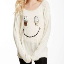 Wildfox Ice Cream Cone Smile Sweater