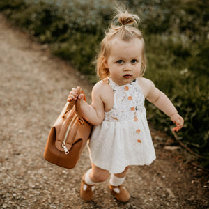 Emilie Dress & Linen Bloomers