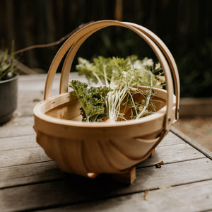 Budding Gardener Wooden Trug