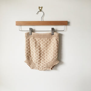 Knitted Cotton Pilchers (ready to post) - kisschaseydesigns
