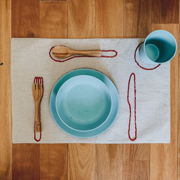 Montessori placemats - kisschaseydesigns