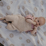 Cooper knitted cotton Overalls