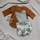 Vintage Peter Rabbit Bubble Romper