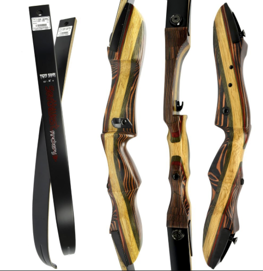Southwest Archery Tigershark Recurve  Bow 62