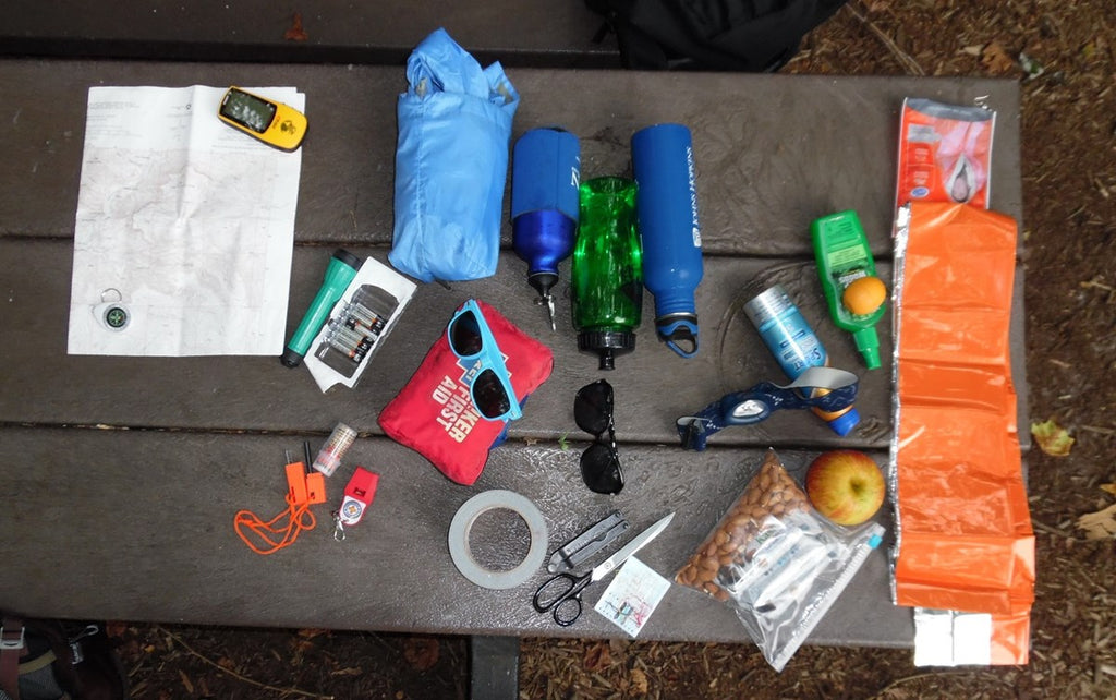 The 10 Essentials (of backpacking)
