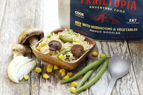 Ramen Noodles - Beef flavored with Vegetables and Mushrooms - Wi-Buy