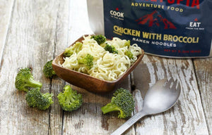 Ramen Noodles - Chicken flavored with Broccoli