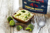 Gluten Free Ramen Noodles - Chicken flavored with Broccoli - Wi-Buy