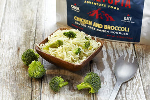 Gluten Free Ramen Noodles - Chicken flavored with Broccoli