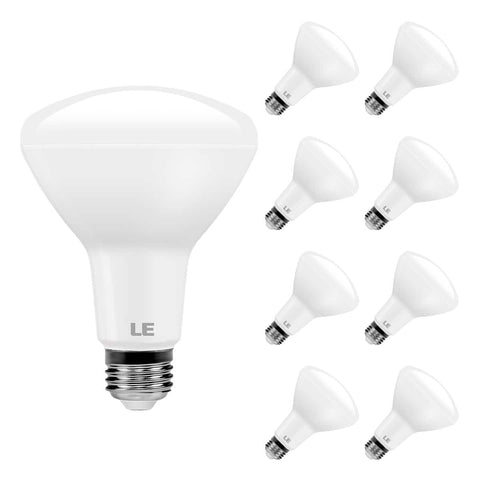 10.5W Dimmable Flood Beam LED Bulb 8 Pack - Wi-Buy