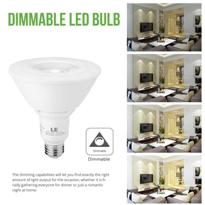 13W Dimmable LED Spotlight Bulb 6 Pack