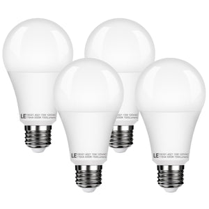 15W Dimmable LED Light Bulb 4 Pack