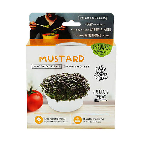 Frontier Coop | Handy Pantry Mustard Microgreen Kit - Wi-Buy
